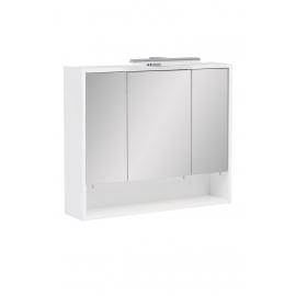 Peegelkapp KIMI valge, 70x16xH60,5 cm, LED