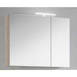 Peegelkapp OPTIbasic - 4 viimistlust, 80x17,6xH72 LED