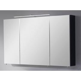 Peegelkapp OPTIbasic 4050 antratsiit läikega, 110x17,6xH72 cm LED