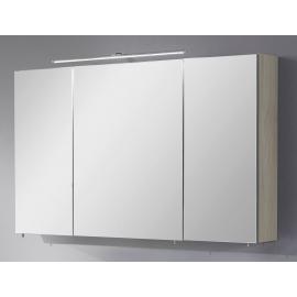 Peegelkapp OPTIbasic 4060 akaatsia, 120x17,6xH72 cm LED
