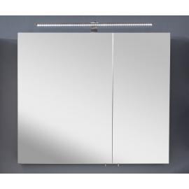 Peegelkapp OPTIbasic 4060 antratsiit läikega, 80x17,6xH72 cm LED