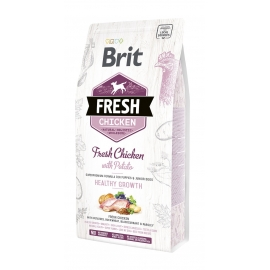 Brit FRESH koeratoit Chicken & Potato for Puppies 2,5kg